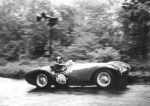 HWM Jaguar - 1956 Shelsley Walsh 16.6. 56 Abecassis (c)